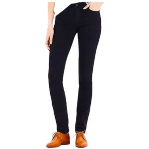 Madewell Alley Straight Jeans in Black Frost